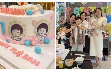 Mẹ Cường Đô La và Subeo dự sinh nhật Suchin, ái nữ của Cường Đô La lần đầu lộ tên thật