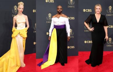 Thảm đỏ Emmy hot nhất hôm nay: Mỹ nhân 'Titanic' chứng minh vị trí nàng thơ vĩnh cửu, nam diễn viên mặc váy chiếm hết spotlight sao nữ